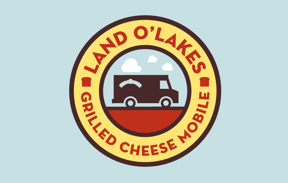 Land O'Lakes Grilled Cheese Tour Badge